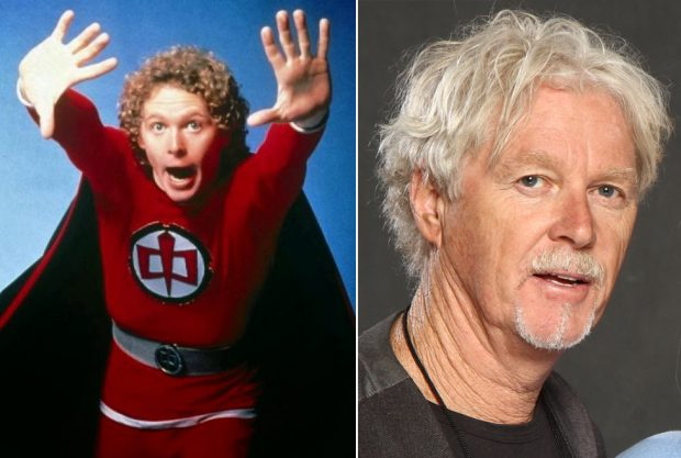 El actor William Katt en la serie 'El gran héroe americano', estrenada en 1981.