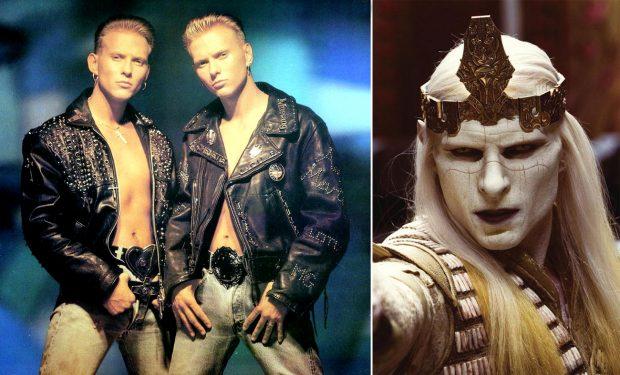 Los hermanos Luke y Matt Goss, más conocidos como Bros y el príncipe Nuada de Hellboy II