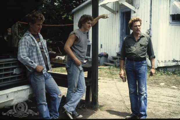 Chris Penn, Sean Penn y Christopher Walken en 'Hombres frente a frente'.