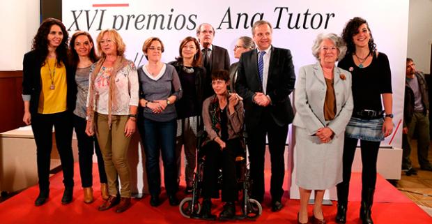 Eva Nasarre, entre los ganadores del Premio Ana Tutor 2015