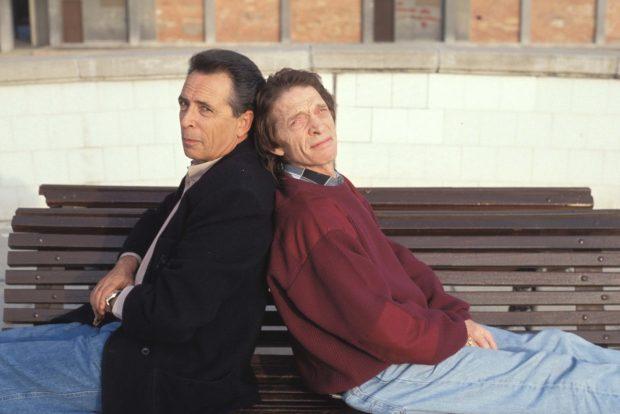 Los hermanos Calatrava, en un posado de los años 70.