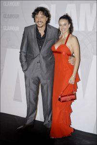 Beatriz Rico y Carlos Bardem en 2006.