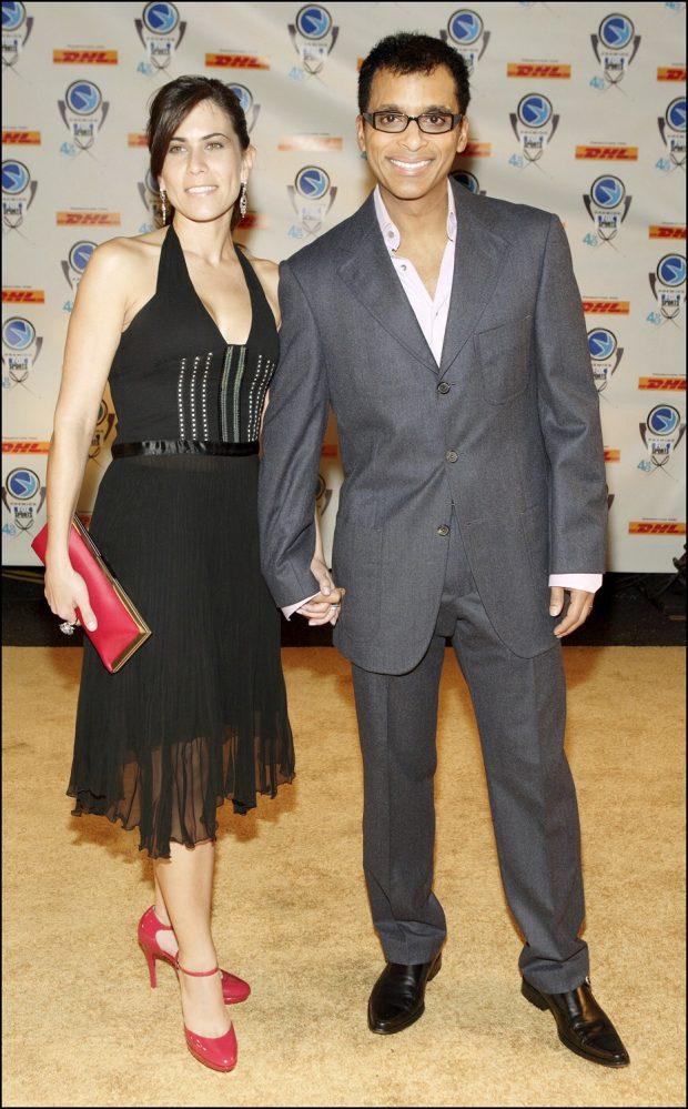 Jon Secada y su mujer, Mari Tere, en 2006.