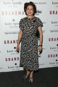 La actriz sEAN yOUNG en el estreno de 'Grandma' en 2015