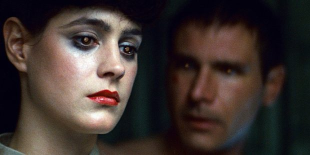 Sean Young y Harrison Ford en 'Blade Runner'