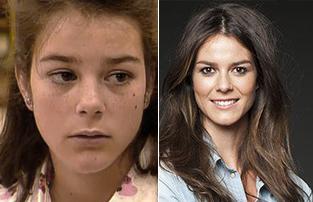 Isabel Aboy antes y después