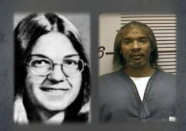 Karen Grammer, la hermana de Kelsey que murió asesinada en 1975, y uno de sus asesinos