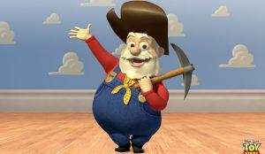 El malvado Oloroso Pete de 'Toy Story 2'.