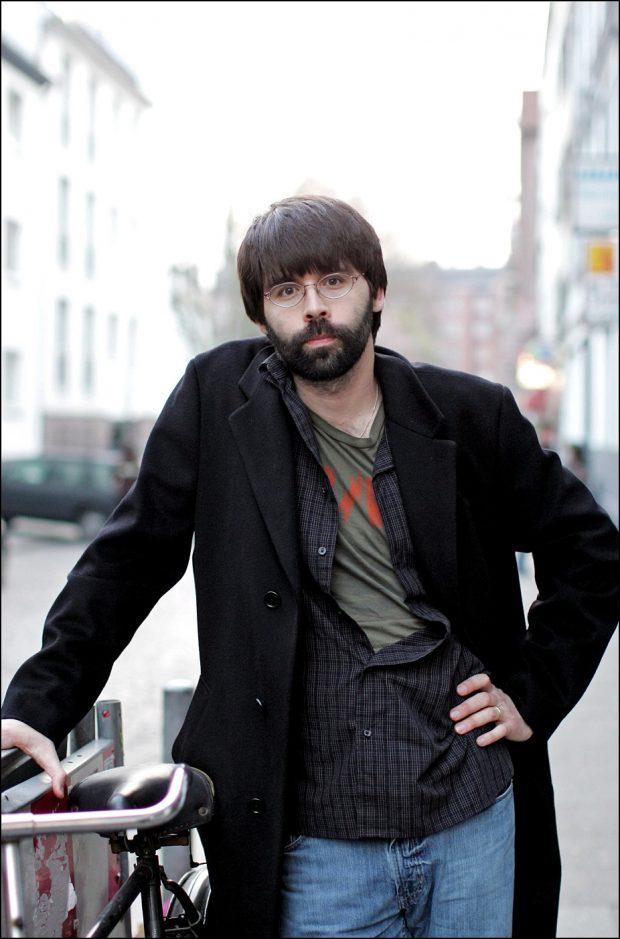 El escritor Joe Hill en 2007.