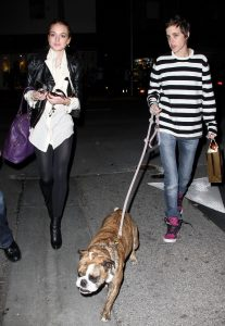 Samantha Ronson y Lindsay Lohan