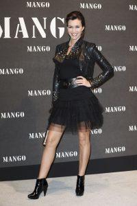 Arancha del Sol durante la presentación de la colección Mango 2010.