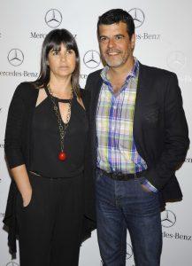 Andoni Ferreño y su mujer Paula Sereno