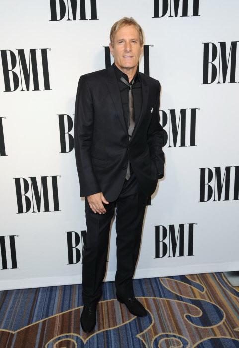 Michael Bolton en los premios BMI Pop Awards en 2015, en Beverly Hills.
