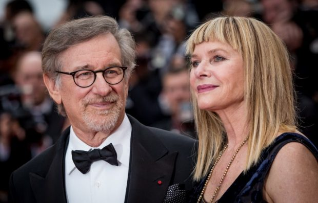 Steven Spielberg y Kate Capshaw en Cannes (Francia) en mayor de 2016.