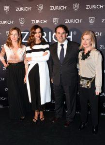 """La presentadora Arancha del Sol durante la inauguración de la clínica """" Zurich """" en Marbella."""