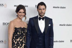 Arancha del Sol y Finito de Cordoba en los premios Marie Claire, en noviembre de 2016.