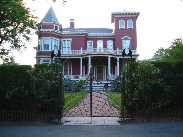Casa de Stephen King en Bangor, Maine. (Wikipedia)