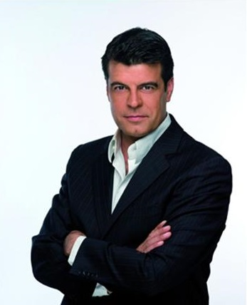 El presentador Andoni Ferreño en los años 90.