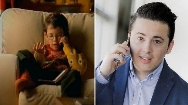 El antes y el después de Enrique Espinosa, el niño del anuncio de Airtel.