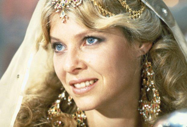 Kate Capshaw en Indiana Jones y el templo maldito 1984