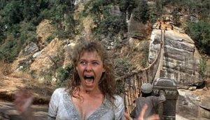 kate capshaw en Indiana Jones y el templo maldito