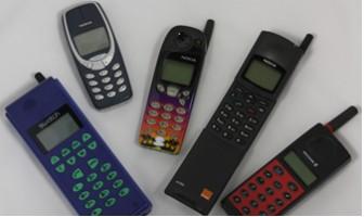 Móviles de finales de los años 90