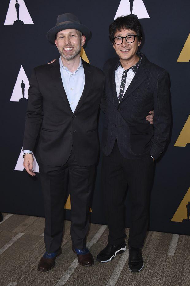 Jeff Cohen y Ke Huy Quan junio 2017
