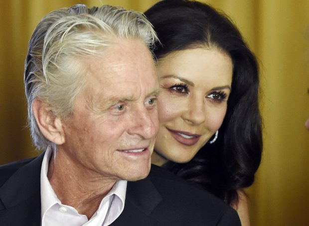 Catherine zeta jones michael douglas 2016