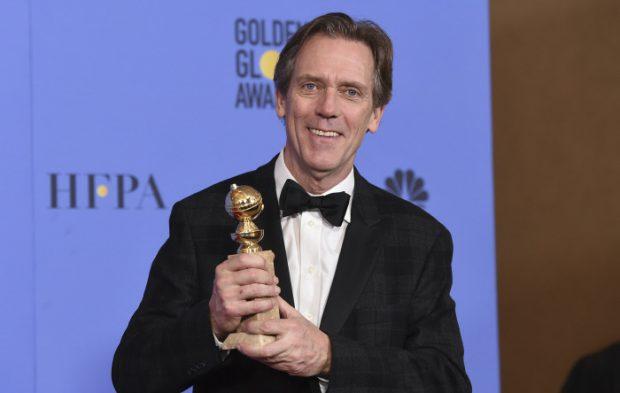 Hugh laurie globo de oro