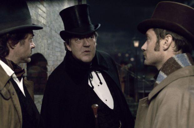 Stephen fry mycroft holmes