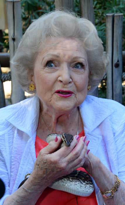 Betty White 2015