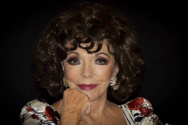 Joan Collins Madrid 2020