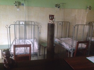 Cunas de Intensive Care en el hospital de Widikum