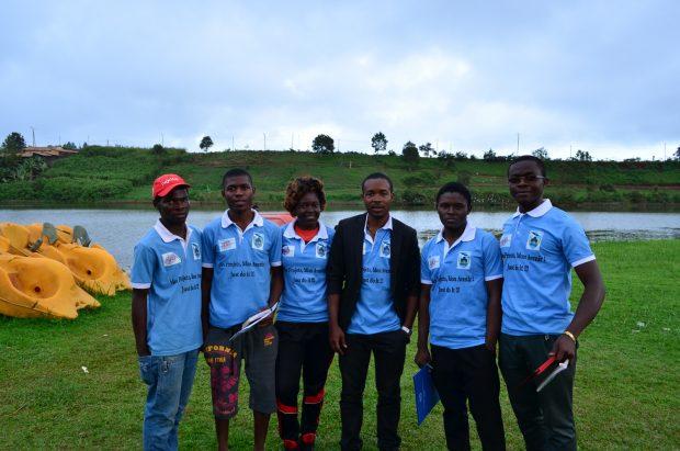 Grupo de futuros emprendedores cameruneses