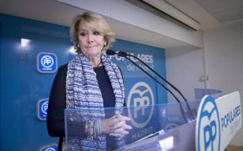 Esperanza Aguirre dimite/EFE