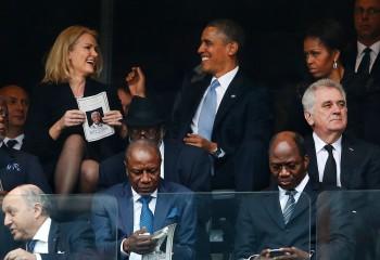 Los celos no perdonan a nadie, ni a la primera dama de EEUU y no suelen pasar desapercibidos. Foto AFP