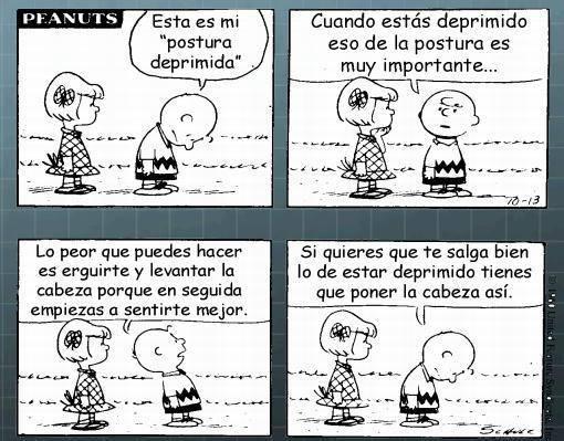 Nos lo decía también el sabio Charlie Brown/Viñeta de Charles M. Schulz