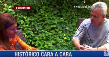 Encuentro entre Popeye y Diana Carolina Hoyos Turbay, hija de una de sus víctimas