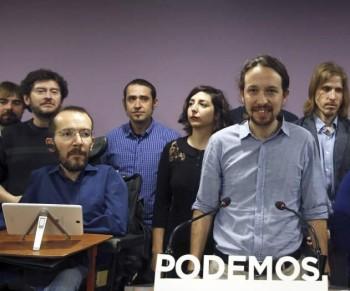 Iglesias propone a Echenique como secretario de organización tras destituir a Sergio Pascual. Foto EFE/Kiko Huesca