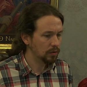 Expresión facial de culpa (ira+tristeza) en Pablo Iglesias.