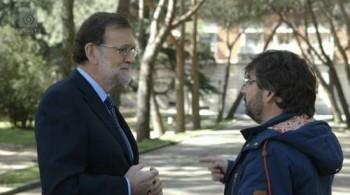 Mariano Rajoy y Jordi Évole durante el programa Salvados. La Sexta.
