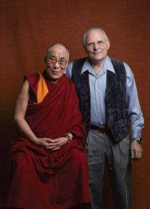 El Dalai Lama junto a Paul Ekman. Fotografía de la web paulekman.com
