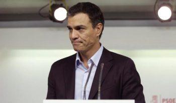Pedro Sánchez renuncia a su acta de diputado. (Foto EFE)