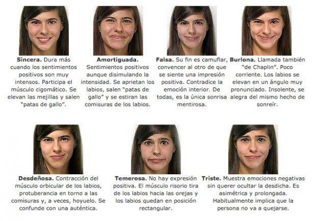 Los 7 Tipos De Sonrisas