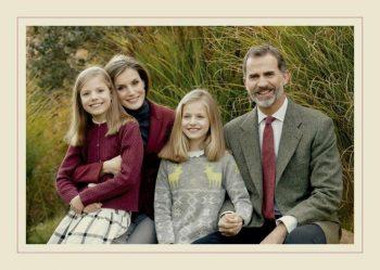 La fotografía que acompaña la felicitación navideña de la Familia Real. CASA DE S.M. EL REY