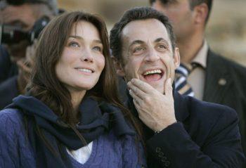 Nicolas Sarkozy y Carla Bruni. (EFE)