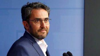 Máxim Huerta anuncia su dimisión. RODRIGO JIMÉNEZ / EFE