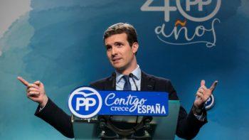 Pablo Casado. Foto EFE