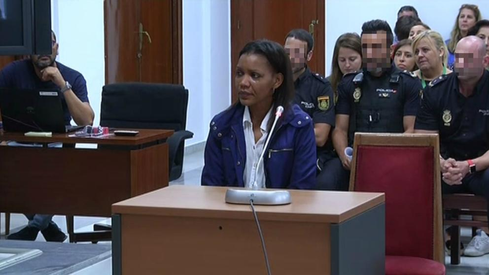 Ana Julia, en el juicio de hoy (Carlos Barba / EFE)