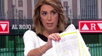 Susana Díaz en 'Al Rojo Vivo' tras la sentencia del caso ERE de Andalucía